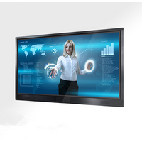 65 inch infrared touch hd led screen monitor smart tv,interactive flat panel/pc