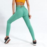 Womens High Waist Yoga Pants Tummy Control Workout Ruched Butt Lifting Stretchy Fitness Yoga Wear Leggings