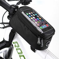 New products cycling bike bicycle bag panniers frame front tube bag
