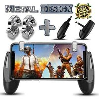 Joysticks For PUBG STG FPS Game Trigger Cell Phone Mobile Controller Fire Button Gamepad L1R1 Aim Key Joystick for IOS Android