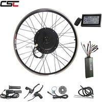 Big Promotion 48V 1000W Electric bike kit Bicycle Conversion Front rear Motor Wheel ebike kit 2024 26 27.528 29 700C