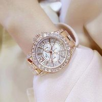 Fashion Ladies Wristwatches Luxury Brand Crystal Dress Women Watch Bling Bling Diamond Rhinestone Quartz Watch (KWT82095)