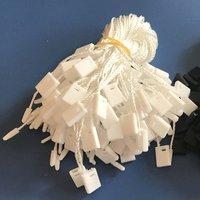 Polyester Yarn PP Plastic Seal Tag String For Clothes, Handbag, No Logo