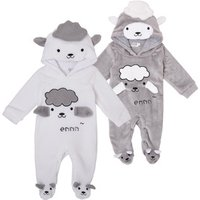 China Market Cute Sheep Baby Romper With Long Sleeve Coral Fleece Infant Clothing