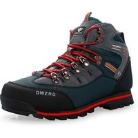 Wear resistant climbing boots waterproof sports outdoor hiking shoes for mens