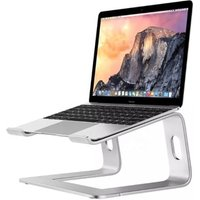 Aluminum Alloy Notebook Stand  Ventilated Laptop Stand Adjustable Heavy Duty Use 11-17 Inch Notebooks