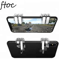 Hot Selling Amazon 1 Pair Game Auxiliary L1R1 Gaming Trigger L1 R1 Mobile controller For Mobile, Rules of Survival,Fortnite