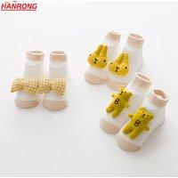 'Class A Cartoon Doll Cotton Baby Socks Non-slip Infants And Kids Indoor Floor Socks