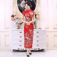 China Factory Vintage Evening Women Modern Cheongsam Dress Chinese Cheongsam qipao Dress