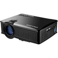 OWLENZ SD50+ 1500 Lumen 800 x 480 Full HD LED Video Portable Mini Projector for Home Theater Support 1080P