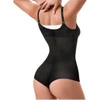 women shapewear zipper latex corset bondage bodysuit for weight loss