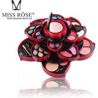 Miss Rose flower makeup set 23 colors eye shadow 4 colors blusher five makeup tools