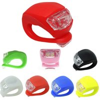 Hot sale Promotion colorful waterproof Silicone LED wheel tire Bike Light helmet taillight mountain led bicycle light