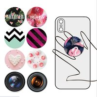 wholesales Airbag ring holder socket phone with OEM Design;Smartphones pops Phone Stand with custom