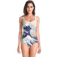 NADANBAO Brand sexy 2019 one piece swimsuit for women 3d printed swimwear summer swim suit beach wear
