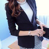 Ladies work wear girls suits office uniform casual woman blazer