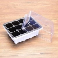 'Peat Pot Seed Germination Kit  Nutrition Cup Pulp Cup Paper Flower Pot Seedling Starter Trays Plastic Nursery Trays