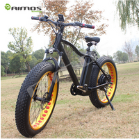 48v 500w/1000w mountain bike two wheel electric bicycle folding fat tire bike for adult