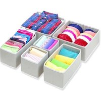 Foldable Cloth Closet Drawer Divider Laundry Room Storage Drawers