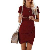 2019 Elegant Brown Clothing Party Wear Latest Designs Fashion Long dress Summer Casual Women Ladies Dress