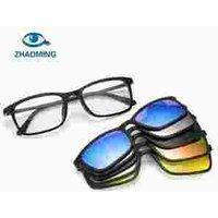Ultra-light Polarized magnetic Clip On Sunglasses Men Women Magnetic Eyewear Eyeglass Frames TR90 Optical Glasses Frame 8803