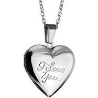 I Love YOU Locket Openable Box Lovely Heart Shape Picture/Photo Frame sachet perfume box Stainless Steel blank Pendant