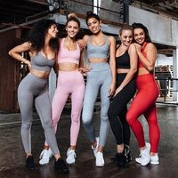 Amazon Wish Hot Selling Two Pieces Yoga Bra Leggings women Gym fitness and yoga wear set