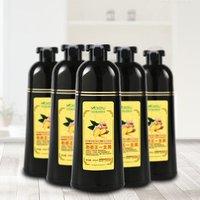 Private label Natural hair dye Mokeru ginger essence shampoo hair darking shampoo for women