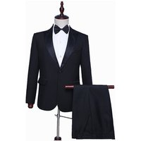 Lower Price Bespoke Men Groomsmen Wedding Wool Suit
