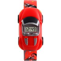 SKMEI 1241 Children Cartoon Car Watch Kids Digital Electronic Wrist Watches for Boys Girls
