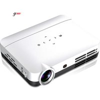 GM-WH806 factory cheapest mini LED pocket projector with WIFI and Bluetooth for home use,business or entertainment