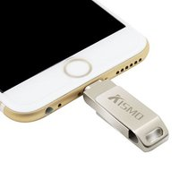 'Custom Usb Flash Drive Metal Usb2.0 Memory Stick 16gb 32gb 64gb 128gb Otg Pen Drive For Iphone X 8 7 6 Plus Ipad Air Mini
