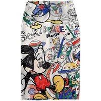 Europe and America Autumn Winter Mid-Calf Skirt High Waist Pleated Umbrella Big Bottom A Line short Puff Skirt