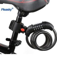 Cycling cable lock bicycle lock High quality wholesale dial lock 5 password Hot Sale anti theft high quality