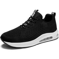 'Lightweight Walking Athletic Shoes Breathable  Sneakers Casual Running Shoes Air Cushion Lace-up Trainers