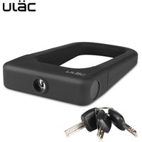 ULAC Bike Lock With Keys Security Anti-theft Bicycle Lock for Bicycle Motorcycle Cycle U Lock