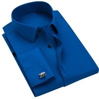 OEM Custom 100% Cotton Long Sleeve Classic Men Formal Dress Shirt for Business Made in China