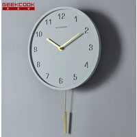 reloj de pared Creative Cement Quartz Concrete wholesale Decoration Office Home Pendulum Wall Clock diy Simple design China