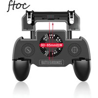 PUBG Fortnite Game Joystick Cooling Fan Gamepad Mobile Control Trigger L1 R1 Cell Phone Gaming Controller for Android Iphone