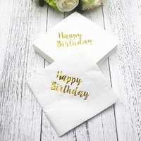 Paper Napkin Bulk for Birthday Bridal Baby Shower Occasions Wedding Holiday Supplies SPT279