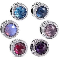 'Jyl Jewelry 925 Sterling Silver Fancy Sparkling Charm Fit For Pandora Jewelry