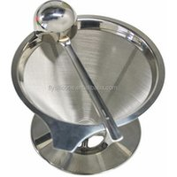 Paperless Pour Over Coffee Dripper - Stainless Steel Reusable Coffee Filter and Single Cup Coffee