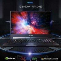 GIGABYTE laptop Aero15-Y9 15.6 inch gaming laptop (i9-8950HK RTX2080MQ 32G 2TM.2 4K UHD)
