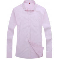 Wholesale OEM Fashion Custom Mens Long Sleeve White 100% Cotton Dress Shirt