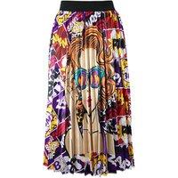 2019 new long pleated skirt maxi skirt