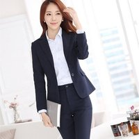 Hot sale cheap office ladies Suit workwear Slim fit formal women elegant skirt suits Uniform for  business suit fabric
