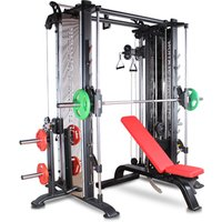 'Commercial Gym Fitness Equipment Cable Crossover Multi Function Smith Machine Price