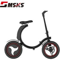 14 inch Tire Electric Bicycle Foldable E Bike 350W Portable Electric Bike