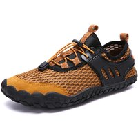 new waterproof wading shoes breathable outdoor hiking water sports shoes men