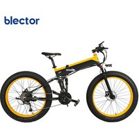 Fashion 26 inch 1000W 500W Long Range Battery Electric Bike Folding Bicycle